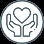 als vrijwilliger of donateur (financieel of met producten)