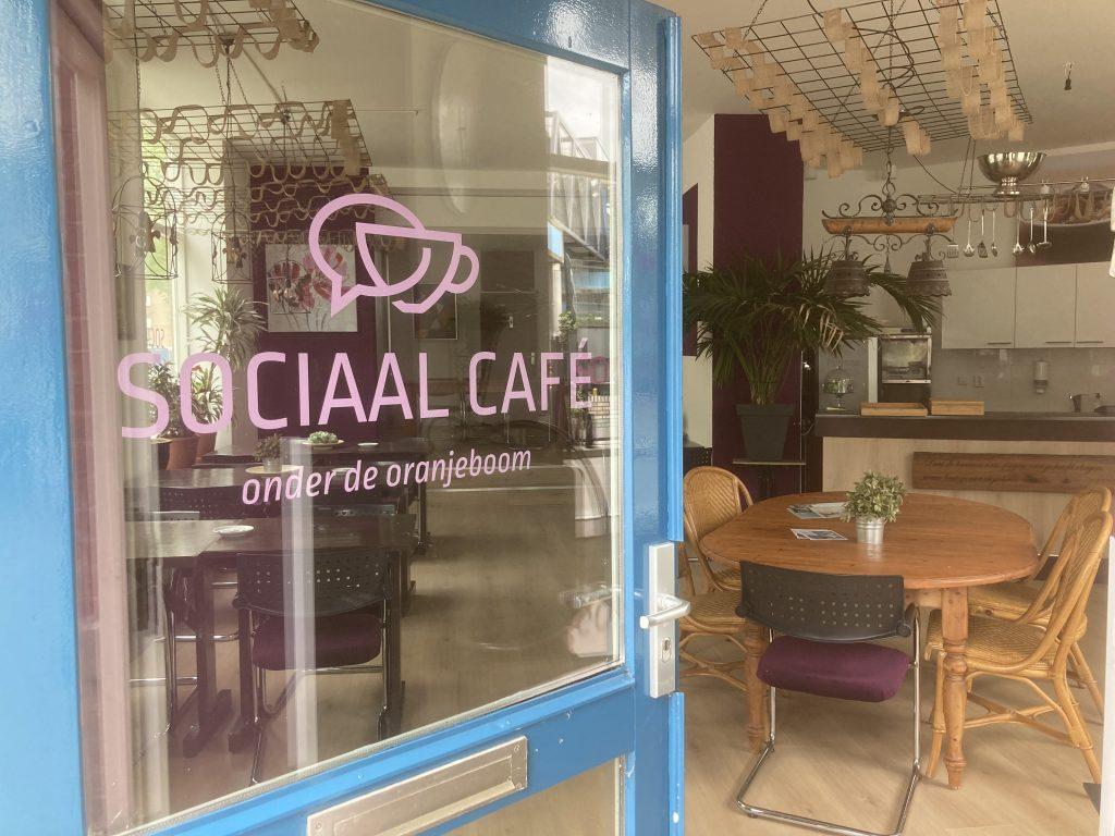 sociaal cafe - WR Onder de Oranjeboom